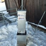 Saltsteinsautomat fra Husdyr systemer stengt